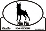 Miniature Pinscher Bumper Sticker