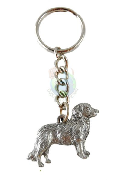 Nova Scotia Duck Tolling Retriever Pewter Keychain