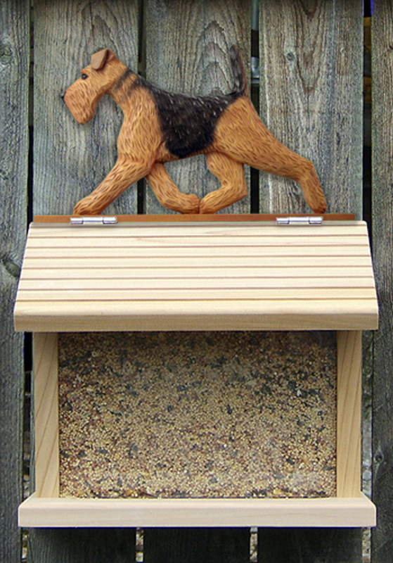 Airedale Bird Feeder