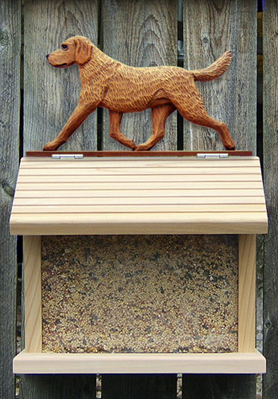 Chesapeake Bay Retriever Bird Feeder
