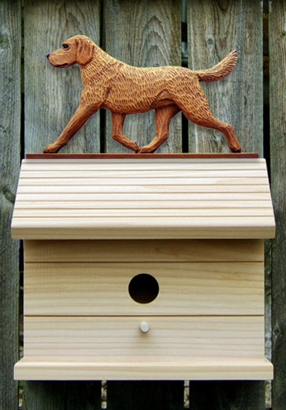 Chesapeake Bay Retriever Dog Bird House