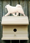 Samoyed Dog Bird House