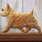 Norwich Terrier Dog Figurine Sign Plaque Display Wall Decoration Wheaten 1