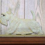 Scottish Terrier Dog Figurine Sign Plaque Display Wall Decoration Wheaten 1