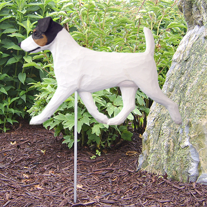 Jack Russell Tri Outdoor Garden Sign