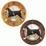 Entlebucher Mt. Dog Wood Wall Clock Plaque