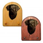 Labrador Retriever Dog Wooden Oak Key Leash Rack Hanger Black