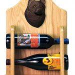 Schipperke Dog Wood Wine Rack Bottle Holder Figure 2
