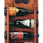 Cocker Spaniel Dog Wood Wine Rack Bottle Holder Figure Blk 3