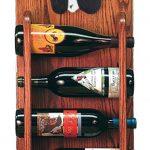Cocker Spaniel Dog Wood Wine Rack Bottle Holder Figure Blk Parti 3