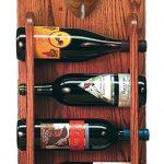 Staffordshire Terr Dog Wood Wine Rack Bottle Holder Figure Red 3