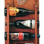 Australian Cattle Dog Wood Dog Wood Wine Rack Bottle Holder Figure Red 3