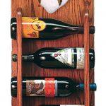 Australian Shepherd Dog Wood Wine Rack Bottle Holder Figure Blu 3
