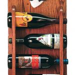 Basset Hound Dog Wood Wine Rack Bottle Holder Figure Blk/Wht 3