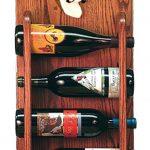 Boxer Dog Wood Wine Rack Bottle Holder Figure Brin 3