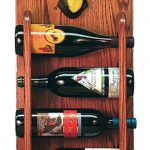 Chihuahua Dog Wood Wine Rack Bottle Holder Figure Blk/Tan 3