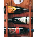 Collie Dog Wood Wine Rack Bottle Holder Figure Blu 3