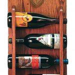 Chocolate Lab Dog Wood Wine Rack Bottle Holder Figure 3