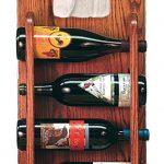 Maltese Dog Wood Wine Rack Bottle Holder Figure 3