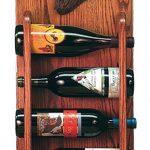 Newfoundland Dog Wood Wine Rack Bottle Holder Figure Blk 3
