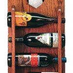 Papillon Dog Wood Wine Rack Bottle Holder Figure Tri 3