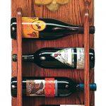 Poodle Dog Wood Wine Rack Bottle Holder Figure Apricot 3
