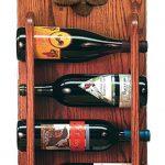 Poodle Dog Wood Wine Rack Bottle Holder Figure Brn 3
