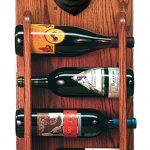 Pug Dog Wood Wine Rack Bottle Holder Figure Blk 3
