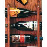 Rottweiler Dog Wood Wine Rack Bottle Holder Figure 3
