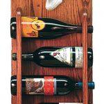 Toy Fox Terrier Dog Wood Wine Rack Bottle Holder Figure Red/Wht 3