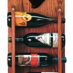 Schnauzer Dog Wood Wine Rack Bottle Holder Figure Blk 3