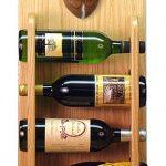 Staffordshire Terr Dog Wood Wine Rack Bottle Holder Figure Red 4