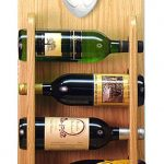 Staffordshire Terr Dog Wood Wine Rack Bottle Holder Figure Red/Wht 4