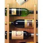 Australian Shepherd Dog Wood Wine Rack Bottle Holder Figure Blk Tri 4