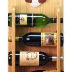 Bearded Collie Dog Wood Wine Rack Bottle Holder Figure Brn/Wht 4