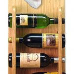 Bichon Frise Dog Wood Wine Rack Bottle Holder Figure 4