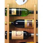 Collie Dog Wood Wine Rack Bottle Holder Figure Tri 4