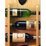 Dachshund Dog Wood Wine Rack Bottle Holder Figure Blk/Tan 4
