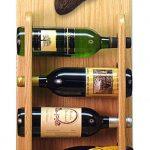 Newfoundland Dog Wood Wine Rack Bottle Holder Figure Blk 4