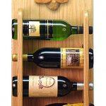 Poodle Dog Wood Wine Rack Bottle Holder Figure Apricot 4