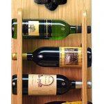 Poodle Dog Wood Wine Rack Bottle Holder Figure Blk 4