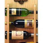 Poodle Dog Wood Wine Rack Bottle Holder Figure Brn 4