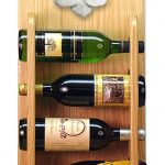 Poodle Dog Wood Wine Rack Bottle Holder Figure Wht 4