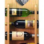 Schnauzer Dog Wood Wine Rack Bottle Holder Figure Salt/Pep 4