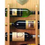 Shih Tzu Dog Wood Wine Rack Bottle Holder Figure SilverWht 4