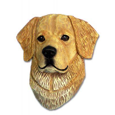 Golden Retriever Head Plaque Figurine Light 1