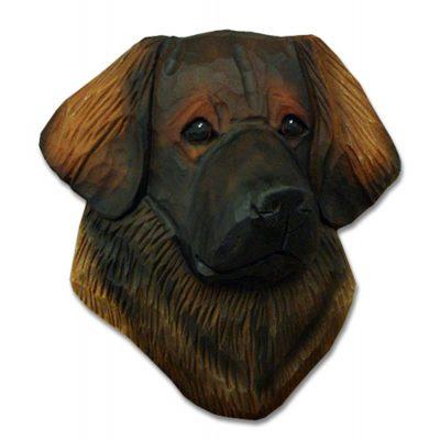 Leonberger Head Plaque Figurine 1