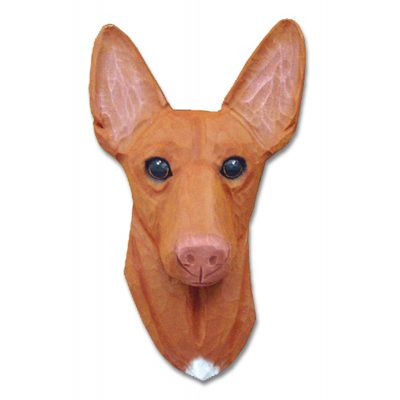 Pharaoh Hound Head Plaque Figurine 1