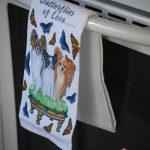 Papillon Kitchen Hand Towel 1
