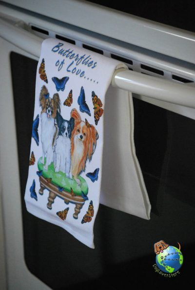 Papillon Kitchen Hand Towel 1